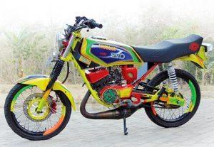 Spesifikasi, Harga dan Gambar Modifikasi Motor RX KING Paling bagus