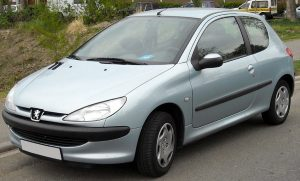 Spesifikasi komplet Sedan Eropa Peugeot 206