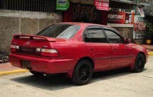 Sedan 90an Toyota Great Corolla, Spesifikasi dan Review komplet