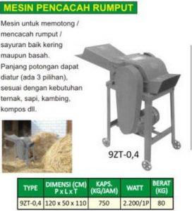 Daftar Harga Mesin Pencacah Rumput Terbaru