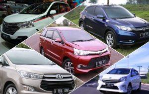 ini 5 Merek dan Jenis Mobil Terlaris
